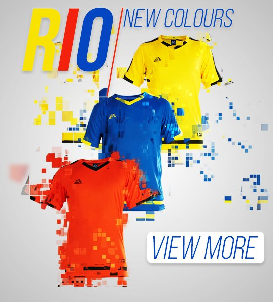 Rio Football Shirt - see more football kits options