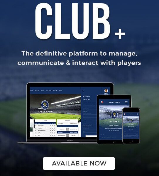 Join Club+ now and give your football club a professional look