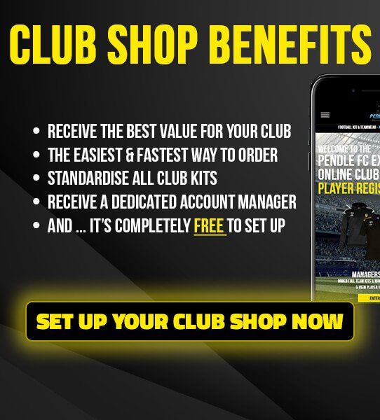 Set up your FREE Online Club Shop