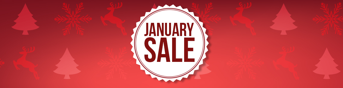 January Sale is now ON!