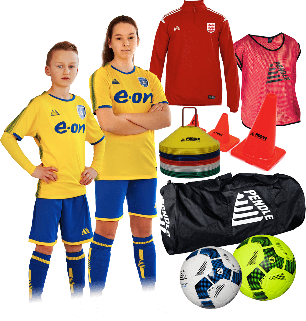 School All-In-One Football Kit Bundle