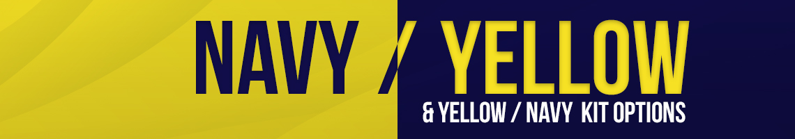 Navy/Yellow Banner