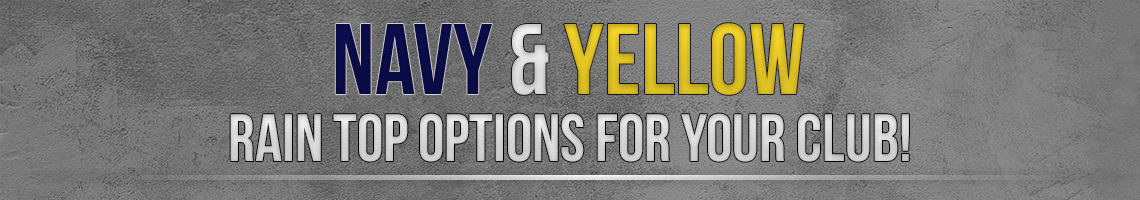 navy yellow banner
