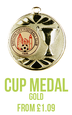 Cup Medal Gold