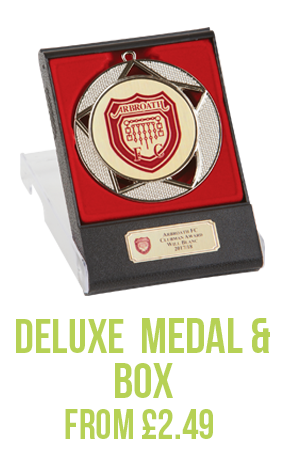 Duluxe Medal & Box Silver