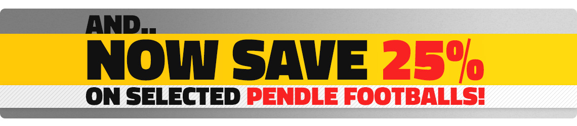 Pendle Footballs - Save 25%