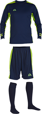Dinamo Navy/Lime Kit Bundle - Starting Bid £55